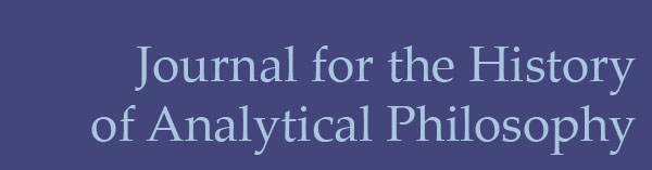 Journal for the History of Analytical Philosophy